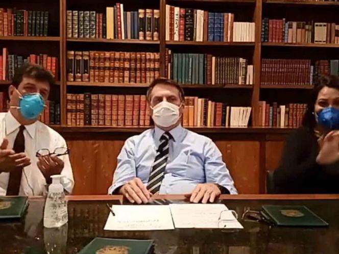 Trump no está preocupado por contagio de coronavirus tras reunión con Bolsonaro